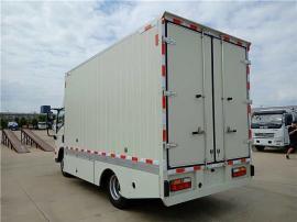 大运4.2米电动厢式运输车报价