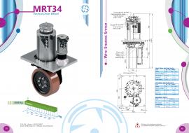 中汽牵引飞机方案 立式舵轮 CFR舵轮 MRT34