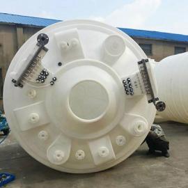20立方浸染皮革水箱圆柱形环保储罐大容积 高强度水箱定制款