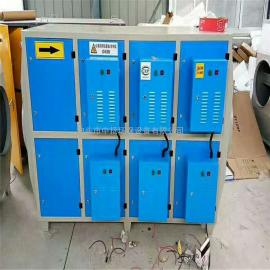 Voc低温等离子废气处理环保设备静电式油烟净化器 除臭除味设备