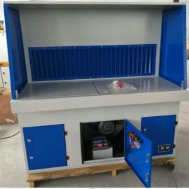 打磨除尘工作台粉尘收集柜抛光吸尘台脉冲除尘砂轮车间无尘设备