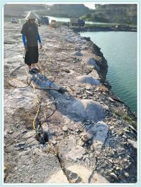 采石场岩石静态开采劈裂机