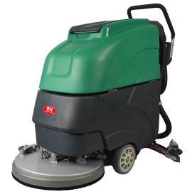 娱乐场所工厂车间用移动式电瓶洗地机德克威诺LC-19A电动刷地机