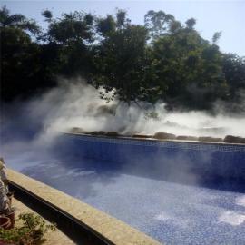景观人造雾设备 景区冷雾设备 园林喷雾造景设备
