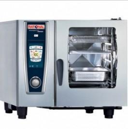 德国乐信多功能蒸烤箱 SCC61G 6层燃气蒸烤箱 电脑版