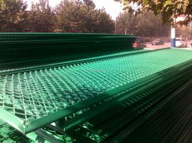 批量出售防眩网高速路防眩网钢板网状护栏菱形孔