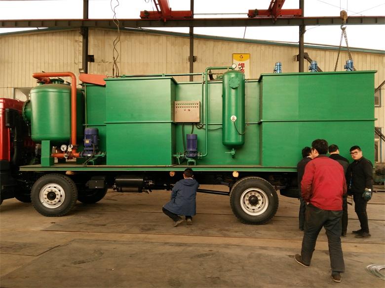 钻井含油污水处理车载一体化污水处理设备
