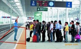 高铁站台旅客越黄线检测识别报警系统