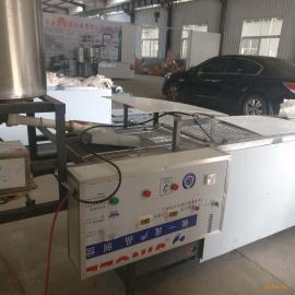 仿手工商用一人操作全自动千张豆腐皮机器盛隆机械销售