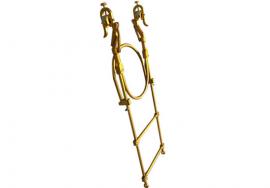高强度铝合金软梯头滑动自锁型软梯头图片