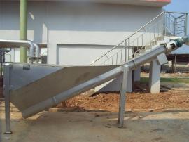 洗沙场污水处理螺旋式砂水分离器