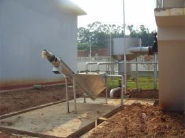 不锈钢耐腐蚀性砂水分离器 无轴螺旋砂水分离器