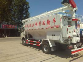 出售散装饲料运输车_养殖场专用上料车