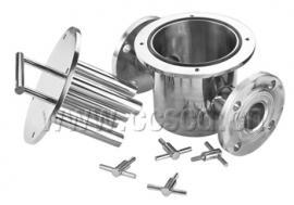 管道磁性过滤器|管道除铁器|管道磁铁过滤器