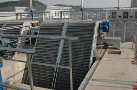 水质净化厂格栅除污机 自动拦污设备回转式格栅除污机