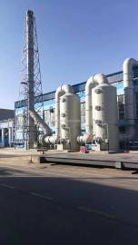 环保设备脱硫塔洗涤塔氨吹脱塔喷淋塔PP酸雾净化塔废气设备