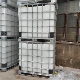 厂家定制1吨带铁架塑料吨桶方形塑料桶耐腐蚀塑料吨桶堆码桶