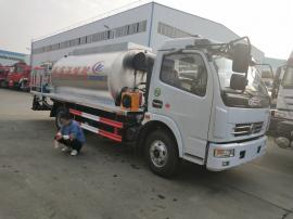 东风多利卡5吨沥青洒布车配置图片参数