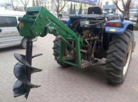 农用拖拉机植树挖坑机大面积种树神器