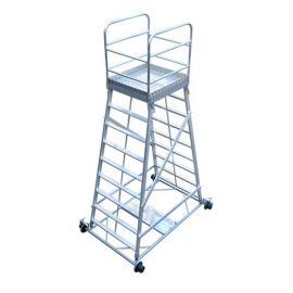 绝缘梯车TC 接触网抢修平台 折叠式铁路工作梯车台