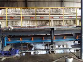 手动污泥板框压滤机 不锈钢污泥板框