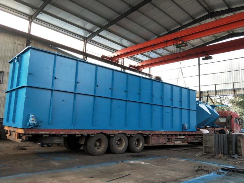 畜禽粪便污水处理设备 耐腐蚀一体化污水处理设备