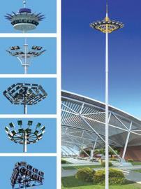 仲右20米25米30米升降式高杆灯大型场所照明