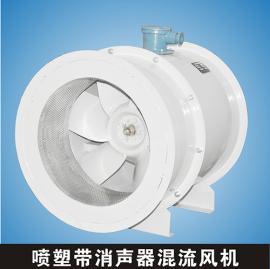 HL3-2A-5A 0.75kw 5966-3549m3h 混流风机带消声器