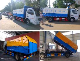 8吨全密封式污泥运输车专卖店