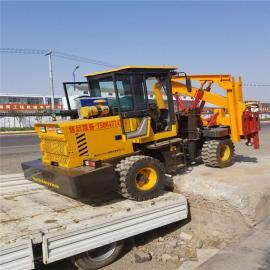 优质装载护栏打桩机 打拔钻一体护栏打桩机 高速打桩机厂家直销