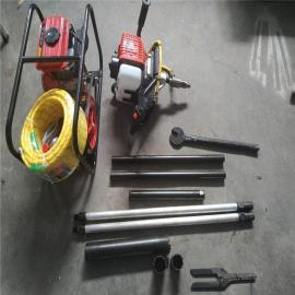 供应地质勘探取芯背包钻机 便携式背包钻机 专用小型取芯钻机