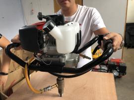 直销小型便携式袖珍背包钻机 便携式背包钻机 取样勘探钻孔钻机