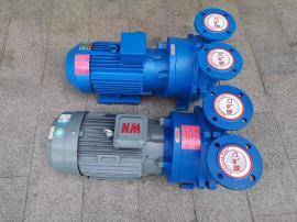 雕刻机真空吸附泵 5.5kw泵7.5kw木工雕刻机吸附泵水环真空吸附泵