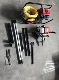 供应地质取样背包钻机 内燃式小型钻孔机 山地勘探背包钻机