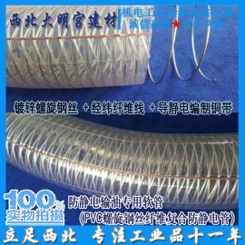 油气回收软管 卸油导静电耐油复合胶管 透明钢丝
