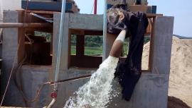 电镀废水污泥脱水机设备离心机