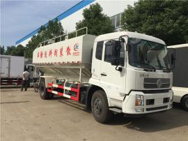 东风天锦10吨散装饲料运输料罐车今日行情