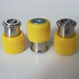 PF11-M4-0/-1/-2松不脱螺钉 手拧面板螺钉 弹簧螺丝