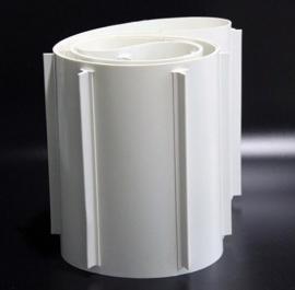 特价热销白色PVC裙边挡板输送带,应用宽泛,质量可靠