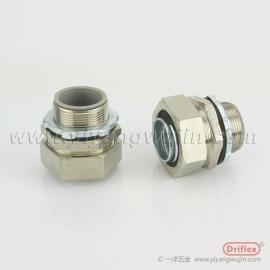 铜镀镍接头,配电箱连接器,穿线接头,配套不锈钢穿线管