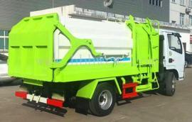 5方挂桶垃圾车 5方小型自装卸式垃圾车环卫工的大爱