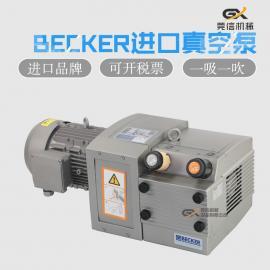 贝克BECKER一吸一吹80立方真空泵 胶印机�獗� 折页机�獗�DVT3.80