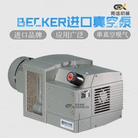 BECKER帮浦原厂 贝克 KVT3.60干式泵 无油泵 旋片泵 百货