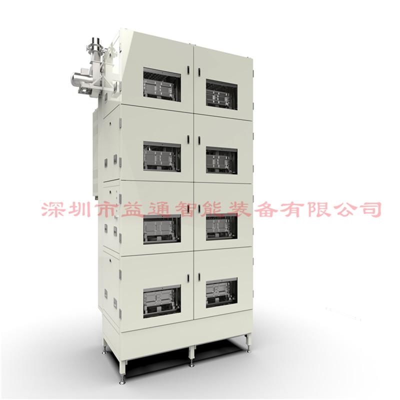 方形铝壳电芯自动线解决方案 自动负压化成机5V30A96通道益通厂家
