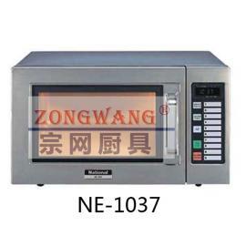 日本Panasonic/松下 NE-1037商用22升微波�t平板上下加�崾�