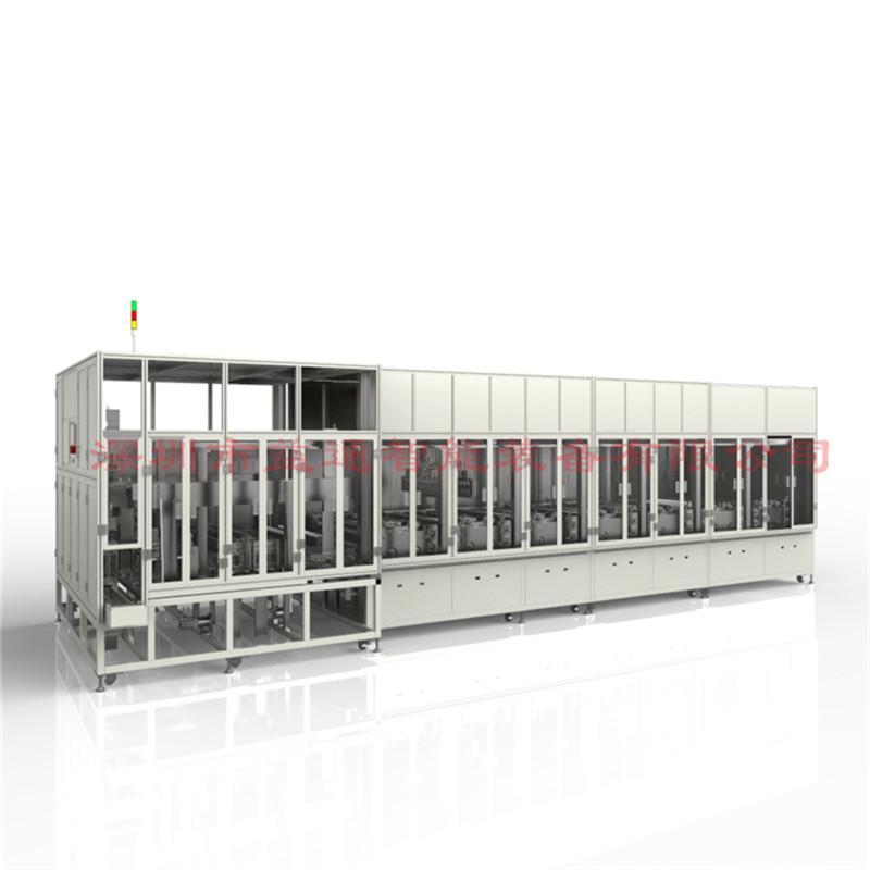 软包电芯解决方案 自动热压化成机电芯充放电检测设备