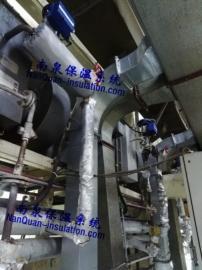 印刷设备导热油管道保温衣