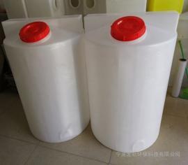 500LPE加药箱搅拌桶防腐蚀耐酸碱塑料搅拌罐500公斤圆桶