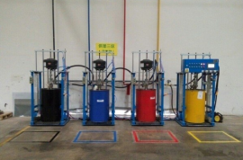 威驰WEIA 电动油墨泵 油墨集中供应系统 油墨双立柱 印刷油墨泵