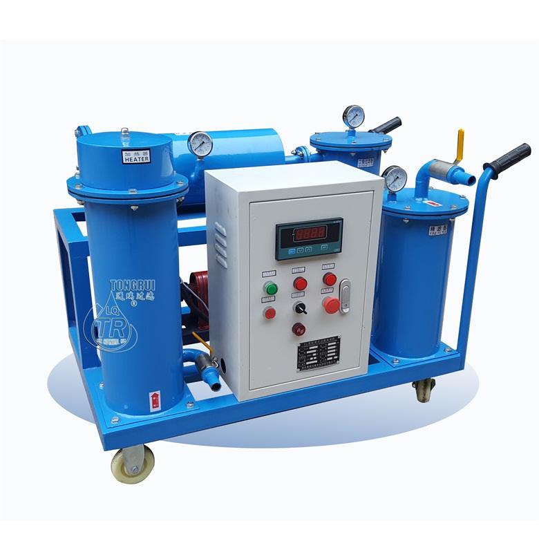 轻便移动式齿轮润滑油加热滤油机(三级过滤、加油抽注)